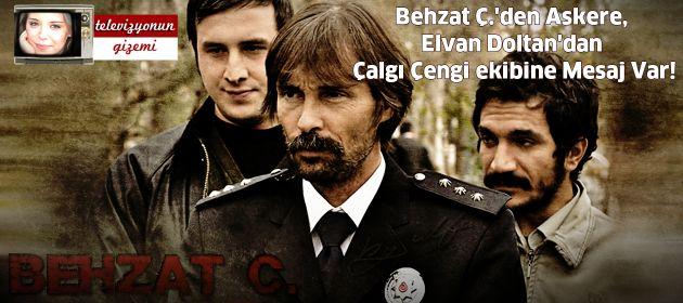 Behzat Ç.'den Askere, Elvan Doltan'dan Çalgı Çengi ekibine Mesaj Var!