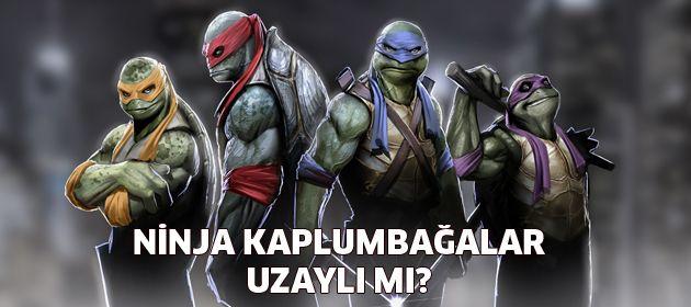 Ninja Kaplumbağalar Bu Kez Uzaydan Gelecek Popüler Sinema